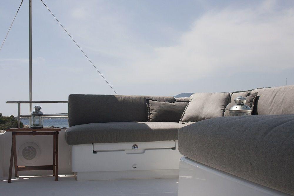 EAGLE OF NORWAY - Crewed Catamaran - Lounge Area