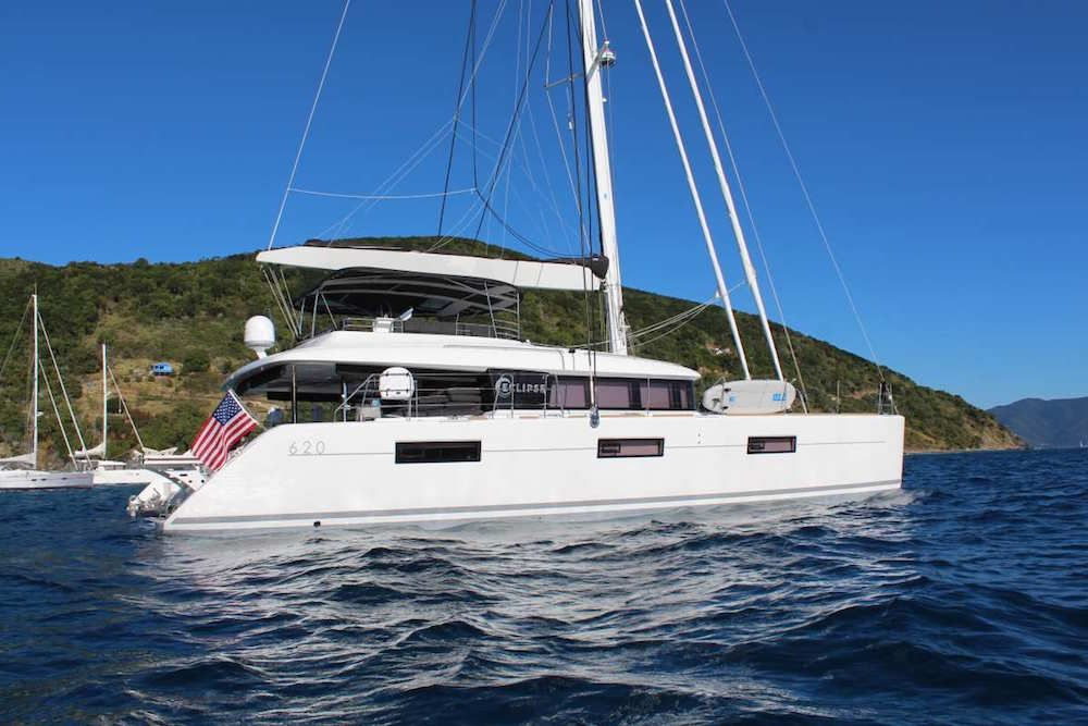 ECLIPSE - Lagoon 620 - 4 Cabins - BVI - Tortola - Virgin Gorda - St Thomas