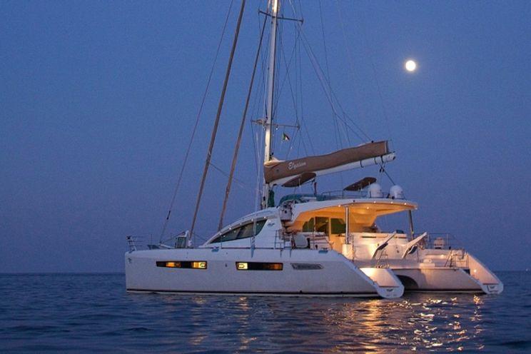Charter Yacht ELYSIUM - Privilege 615 - 4 Cabins - BVI - St Thomas - Tortola - Virgin Gorda