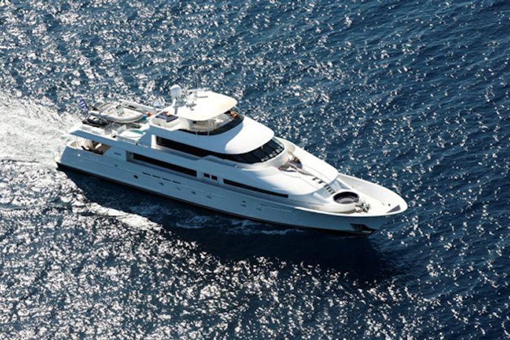 Charter Yacht ENDLESS SUMMER - Westport 130 - 6 Cabins - Athens - Rhodes - Santorini - Mykonos