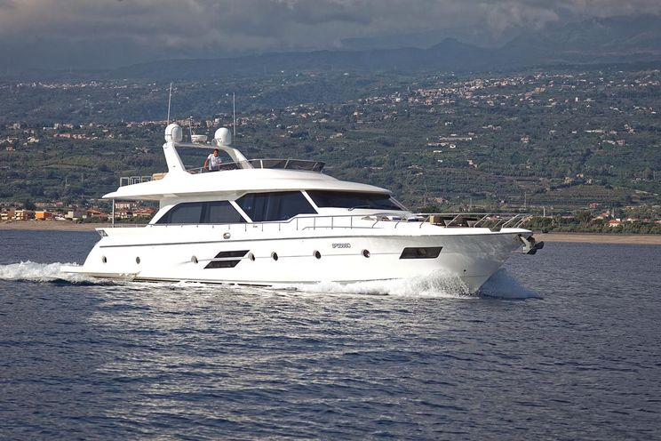Charter Yacht ENJOY - Marco Polo 78 - 4 Cabins - Amalfi Coast - Sicily - Capri - Palermo