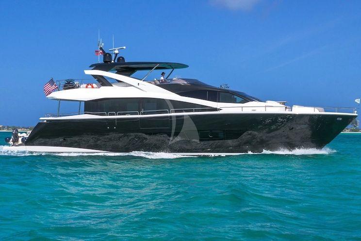 Charter Yacht ENTERPRISE - Sunseeker 86 - 4 Cabins - Nassau - Exumas - Newport - Nantucket