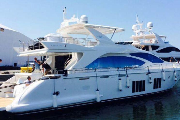 Charter Yacht ESSENZA - Azimut 84 - 4 Cabins - Marmaris - Bodrum - Gocek