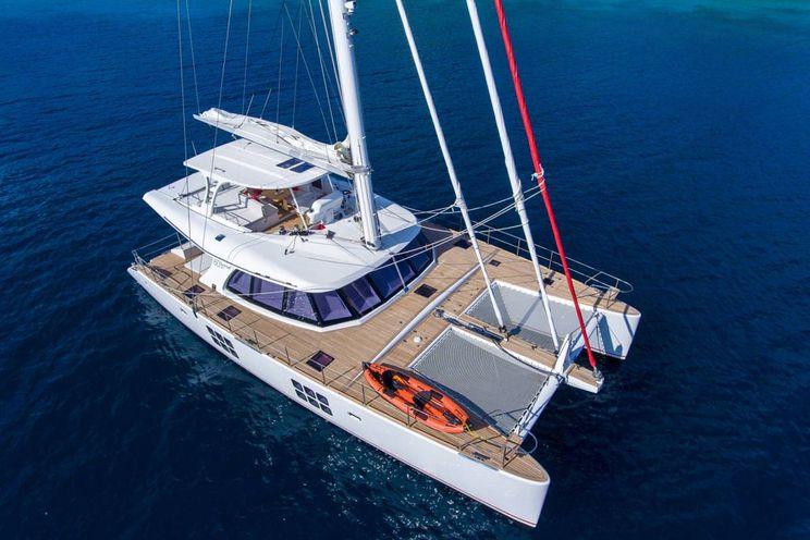 Charter Yacht EUPHORIA - Sunreef 60 - 3 Cabins - Tortola - St Thomas - St John - Virgin Gorda - Anegada