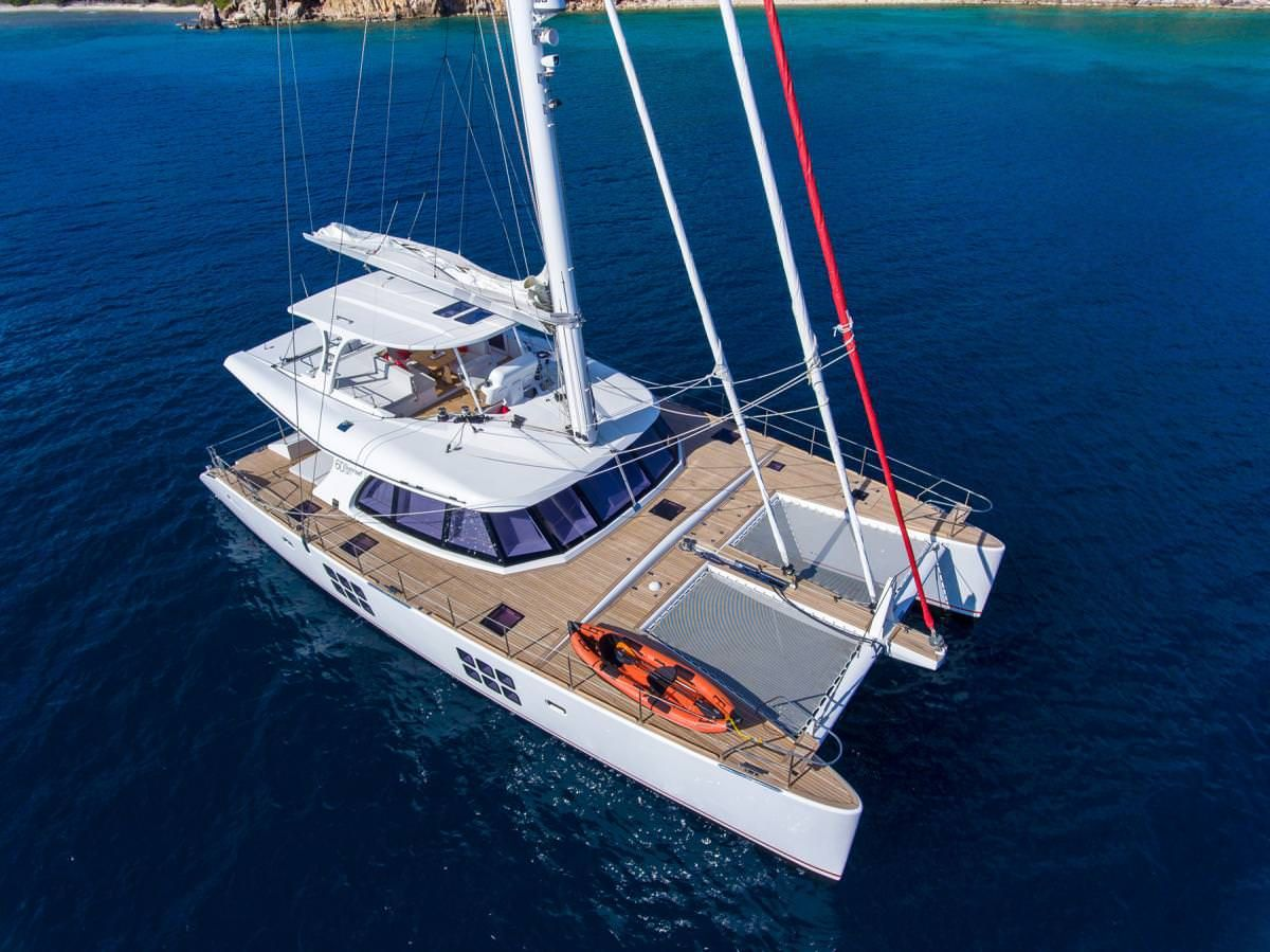 EUPHORIA - Sunreef 60 - 3 Cabins - Tortola - St Thomas - St John - Virgin Gorda - Anegada