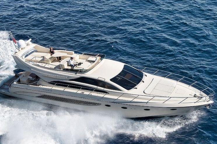 Charter Yacht EVA KANT - Riva Dolcevita 70 - 4 Cabins - Naples - Amalfi - Capri - Sicily