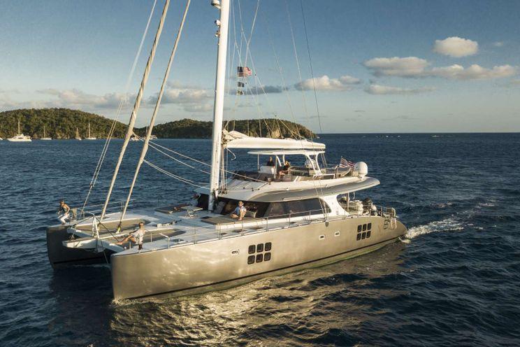 Charter Yacht EXCESS - Sunreef 70 - 4 Cabins - St Thomas - Tortola - Virgin Gorda - BVI