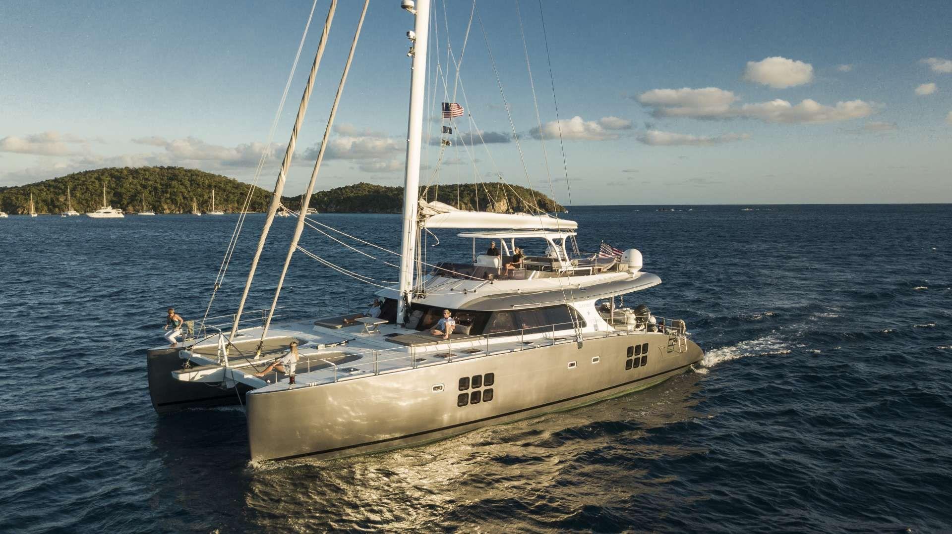EXCESS - Sunreef 70 - 4 Cabins - St Thomas - Tortola - Virgin Gorda - BVI
