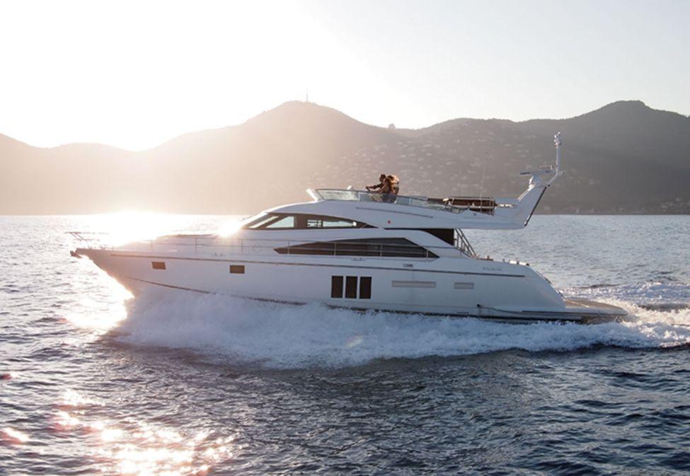 Fairline Squadron 62 GT - 3 Cabins - Cannes - Golfe Juan - Antibes - France