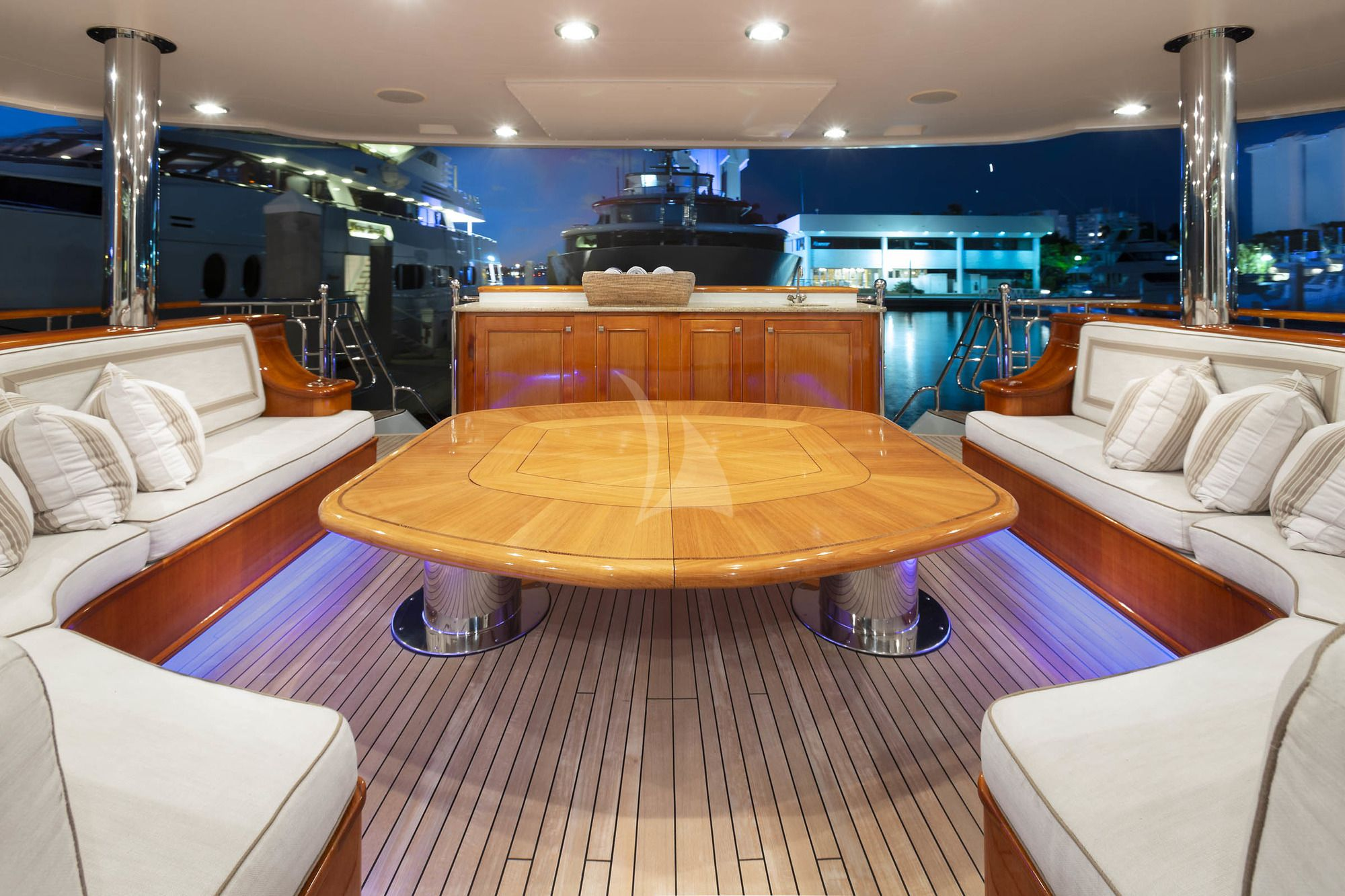 FAR FROM IT Seating Main Deck