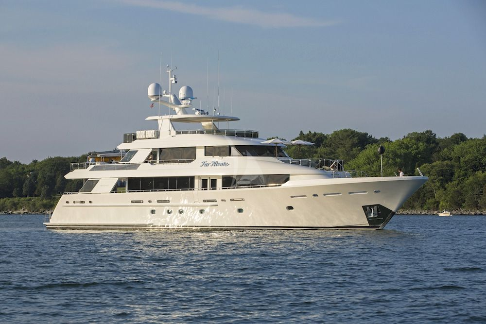 FAR NIENTE - Westport 40m - 5 Cabins - Bahamas - Nassau - St Thomas - Tortola