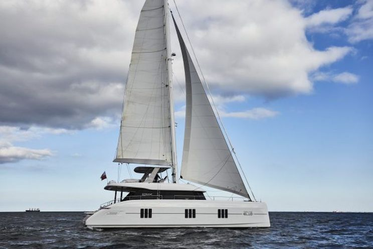 Charter Yacht FEEL THE BLUE - Sunreef 60 - 5 Cabins -  Olbia - Porto Cervo - Sardinia