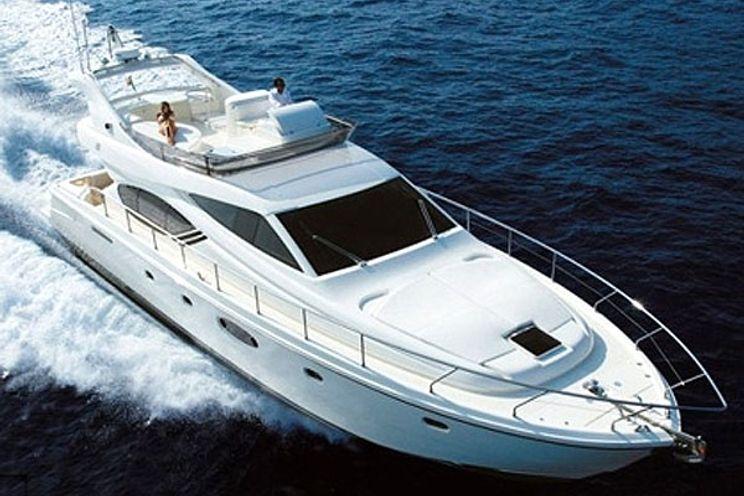 Charter Yacht ELEVEN - Ferretti 55 - 3 Cabins - Italy - Sardinia - Porto Cervo - Cagliari - Cannigione