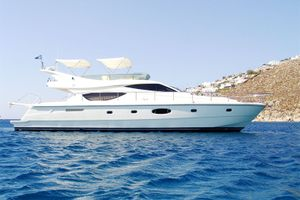 Ferretti 550 Flybridge - Day Charter Yacht - Mykonos