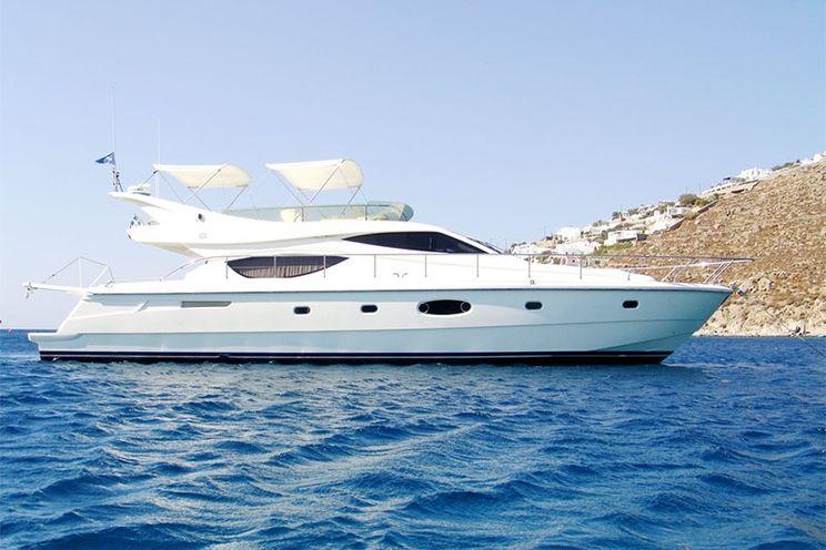 Charter Yacht Ferretti 550 Flybridge - Day Charter Yacht - Mykonos