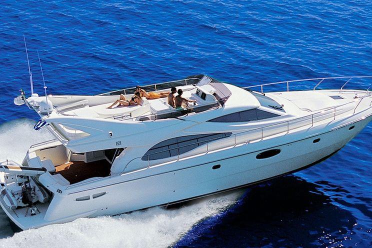 Charter Yacht Ferretti 590 - 3 Cabins - Mykonos