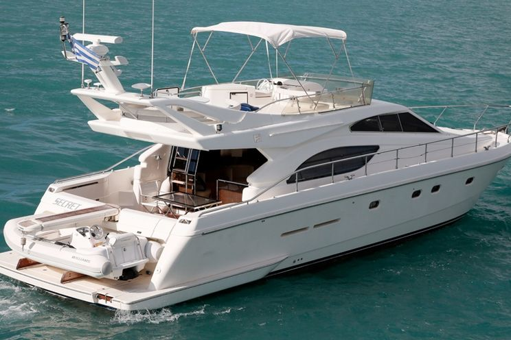 Charter Yacht Ferretti 53 - 3 Cabins - Mykonos - Naxos - Paros