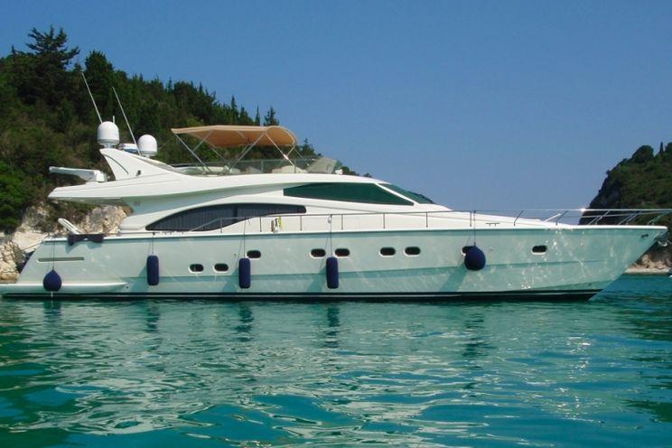 Charter Yacht Ferretti 68 - Day Charter Yacht - Mykonos - Paros - Naxos - Delia