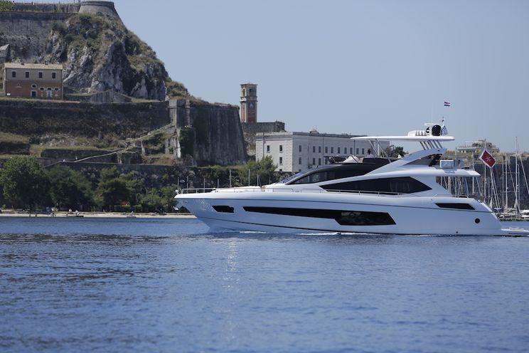 Charter Yacht FINEZZA - Sunseeker 75 Yacht - 4 Cabins - Corfu - Lefkas - Kefalonia