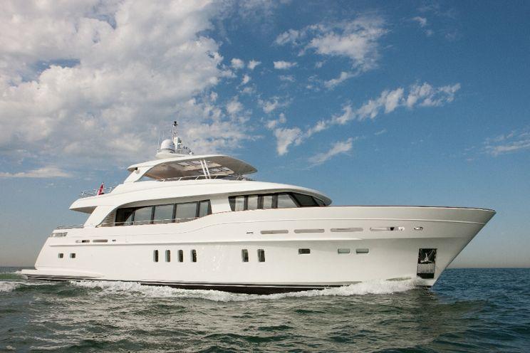 Charter Yacht FIREFLY - 28m Mulder - 4 Cabins - Malta - Sicily - Amalfi Coast - Naples