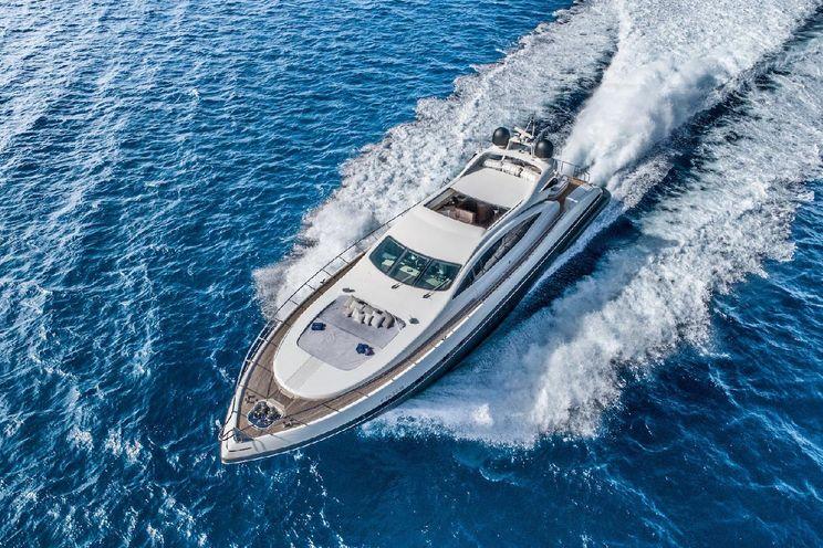 Charter Yacht FIVE STARS - Mangusta(Overmarine)92` - 5 Cabins - Ibiza - Formentera - Palma - Barcelona