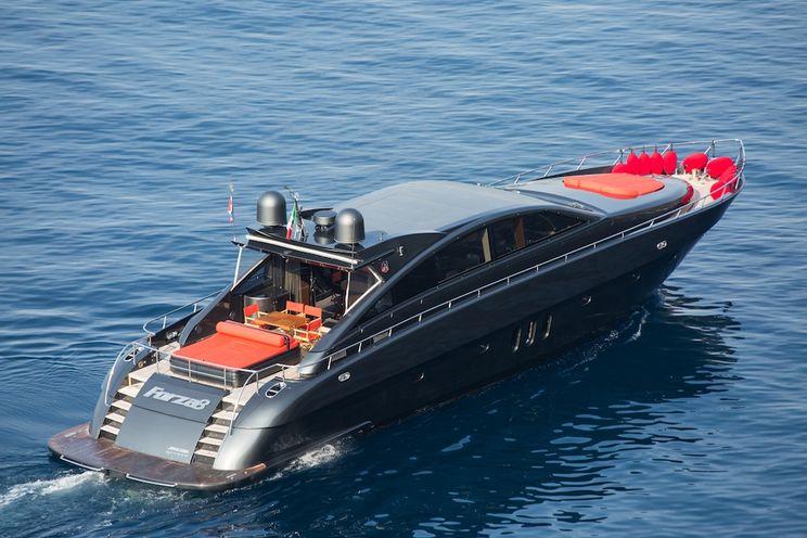 Charter Yacht FORZA 8 - Jaguar 25m - 4 Cabins - Monaco - Cannes - Antibes - St Tropez - Nice