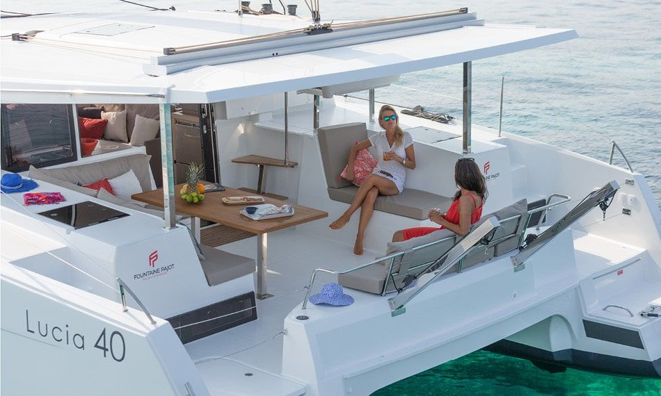 Fountaine Pajot Lucia 40 Back
