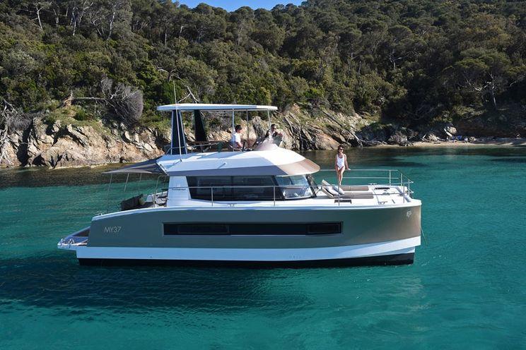 Charter Yacht Fountaine Pajot Motor Yacht 37 - 3 Cabins - 2020 - Ajaccio - Corsica - France