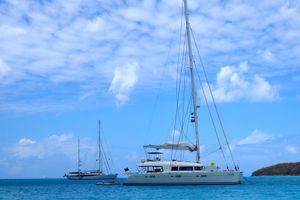 FOXY LADY - Lagoon 620 - 4 Cabins - BVI - Tortola - Virgin Gorda - British Virgin Islands