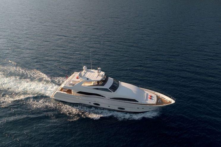 Charter Yacht FUNDA D - Ferretti 30m - 5 Cabins - Gocek - Bodrum - Marmaris