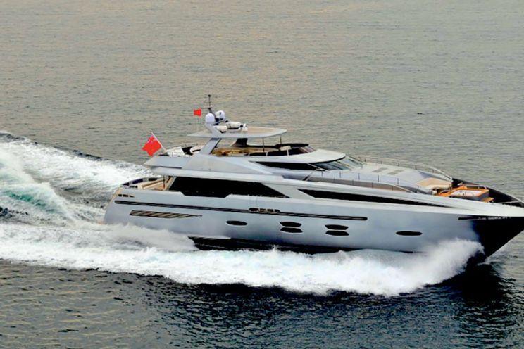 Charter Yacht FUNKY CHOICE - Logos Marine 35m - 5 Cabins - Mykonos - Athens - Santorini