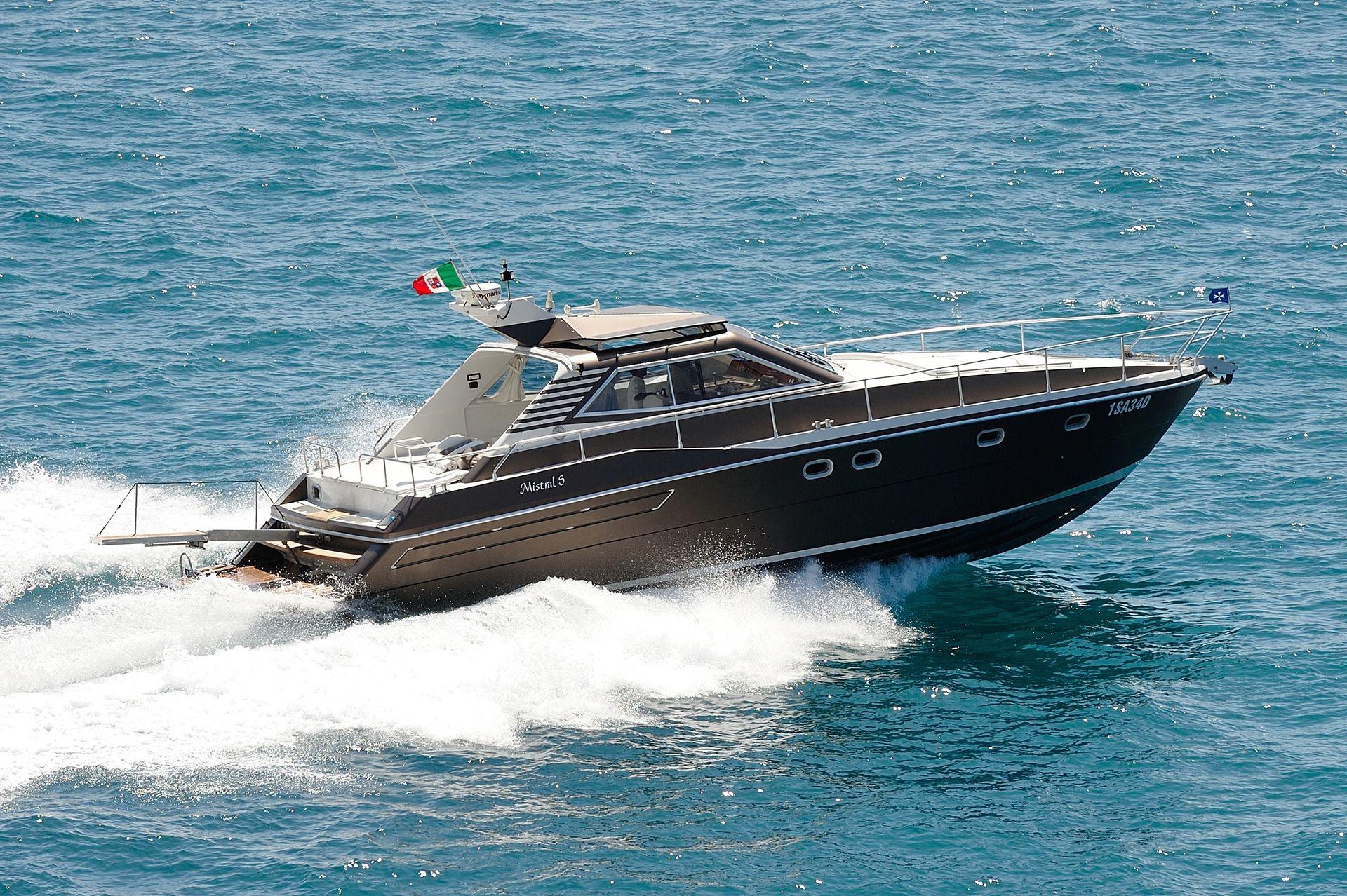 FURORE INN - Raffaelli Mistral S 47 - Day Charter Yacht - Positano - Amalfi Coast