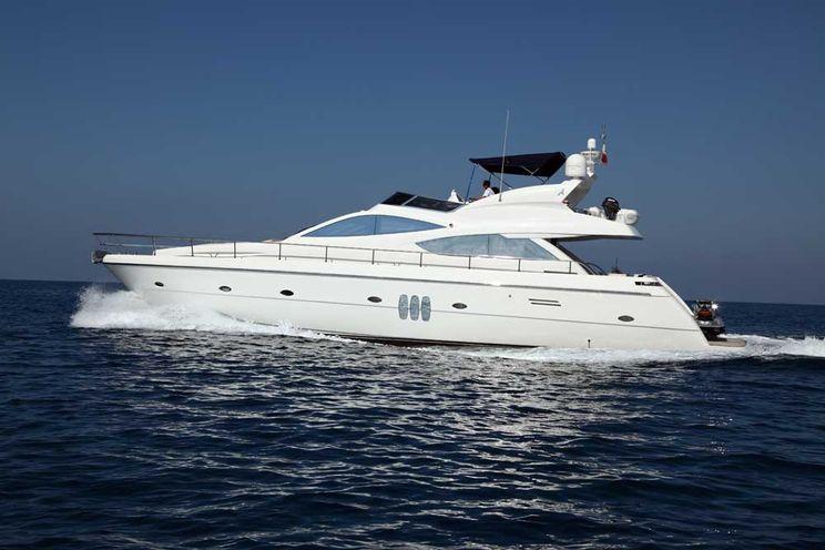 Charter Yacht GABY - Abacus Marine 22m - 3 Cabins - Catania - Etna - Taormina