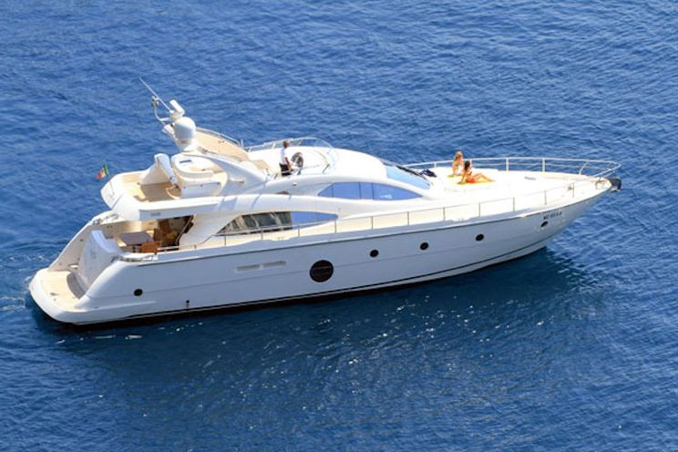 Charter Yacht GEORGE V - Aicon 64 - 4 Cabins - Athens - Mykonos - Rhodes - Santorini