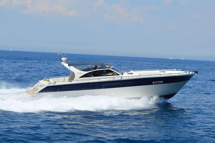 Charter Yacht Santorini 48 - 3 Cabins - Amalfi Coast - Sorrento - Positano - Capri