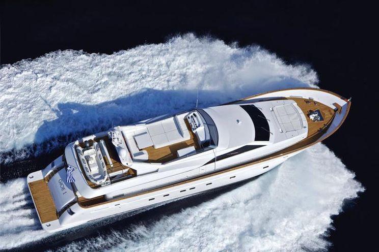 Charter Yacht GIOE I - Tecnomar 100 - 5 Cabins - Athens - Mykonos - Kos - Paros - Lefkas