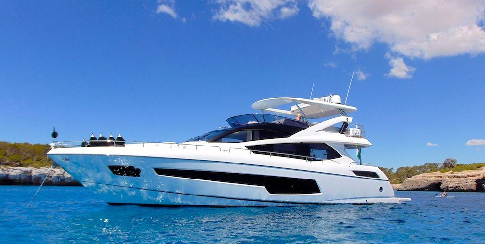 GLASAX - Sunseeker 75 Yacht - 4 Cabins - Lefkada - Corfu - Zakynthos - Kefalonia