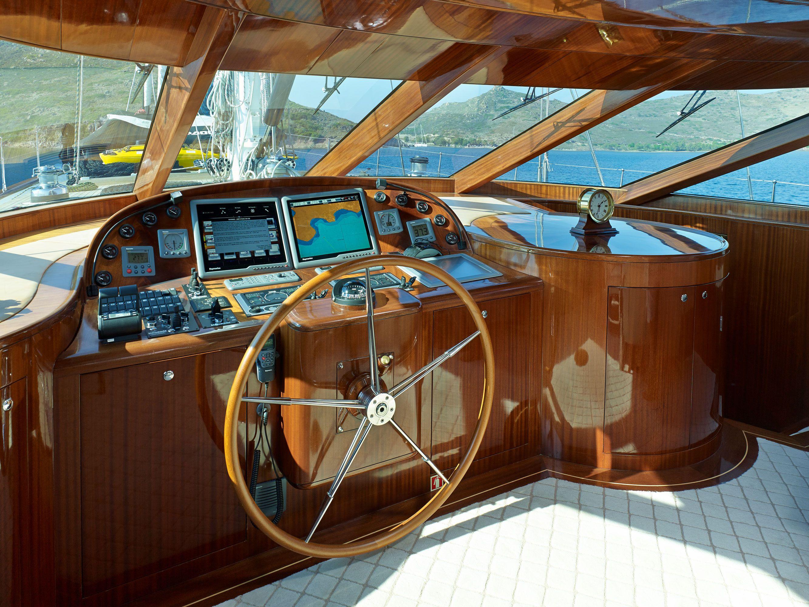 GLORIOUS II Cockpit