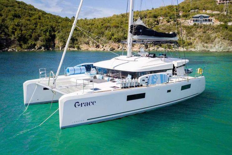 Charter Yacht GRACE - Lagoon 52 - 4 Cabins - St Thomas - Tortola - Virgin Gorda - BVI