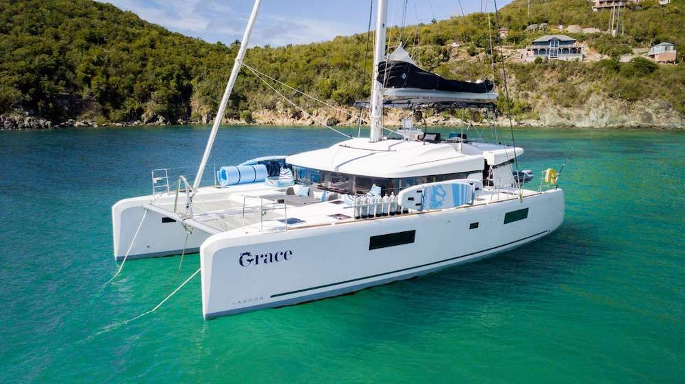 GRACE - Lagoon 52 - 4 Cabins - St Thomas - Tortola - Virgin Gorda - BVI