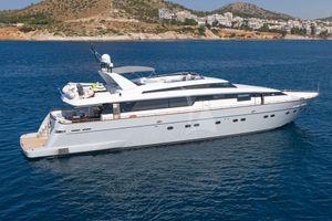 GRACE - Sanlorenzo 100 - 5 Cabins - Athens - Mykonos - Santorini - Zakynthos