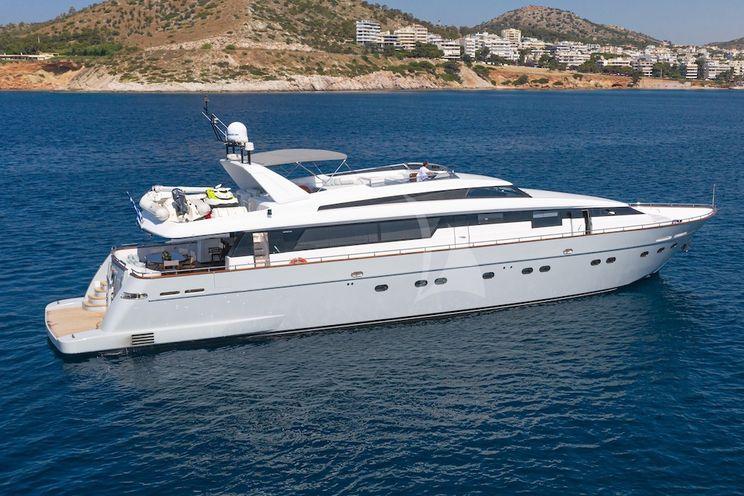Charter Yacht GRACE - Sanlorenzo 100 - 5 Cabins - Athens - Mykonos - Santorini - Zakynthos