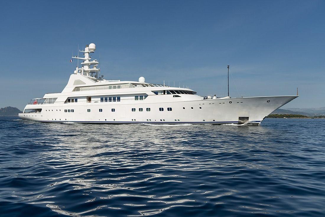GRAND OCEAN - Blohm & Voss 80m - 7 Cabins - Croatia - Split - Hvar - Trogir - Bahamas - Nassau - Abacos - Caribbean Leeward - Windward