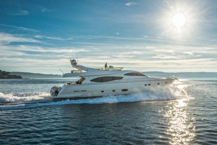 Charter Yacht GRIFO - Ferretti 760 - 4 Cabins - Croatia - Dubrovnik - Kastela - Split - Sibenik