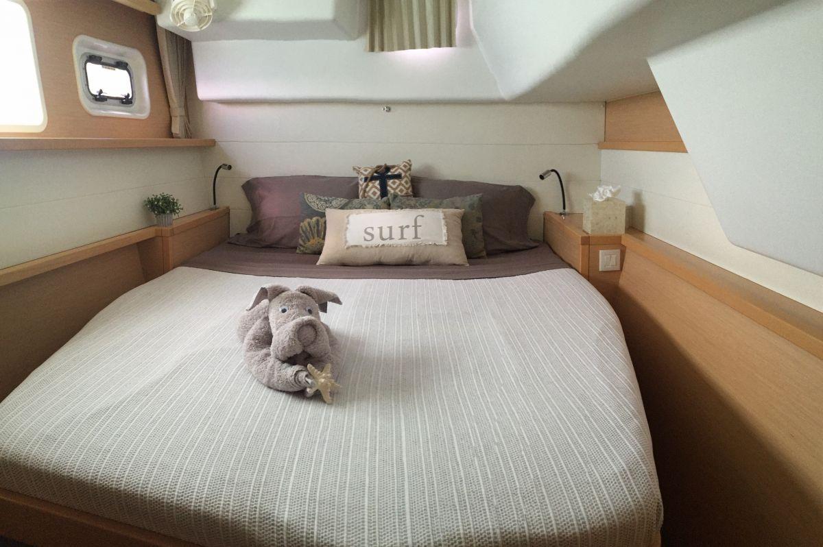 GYPSY PRINCES Lagoon 450 VIP Cabin