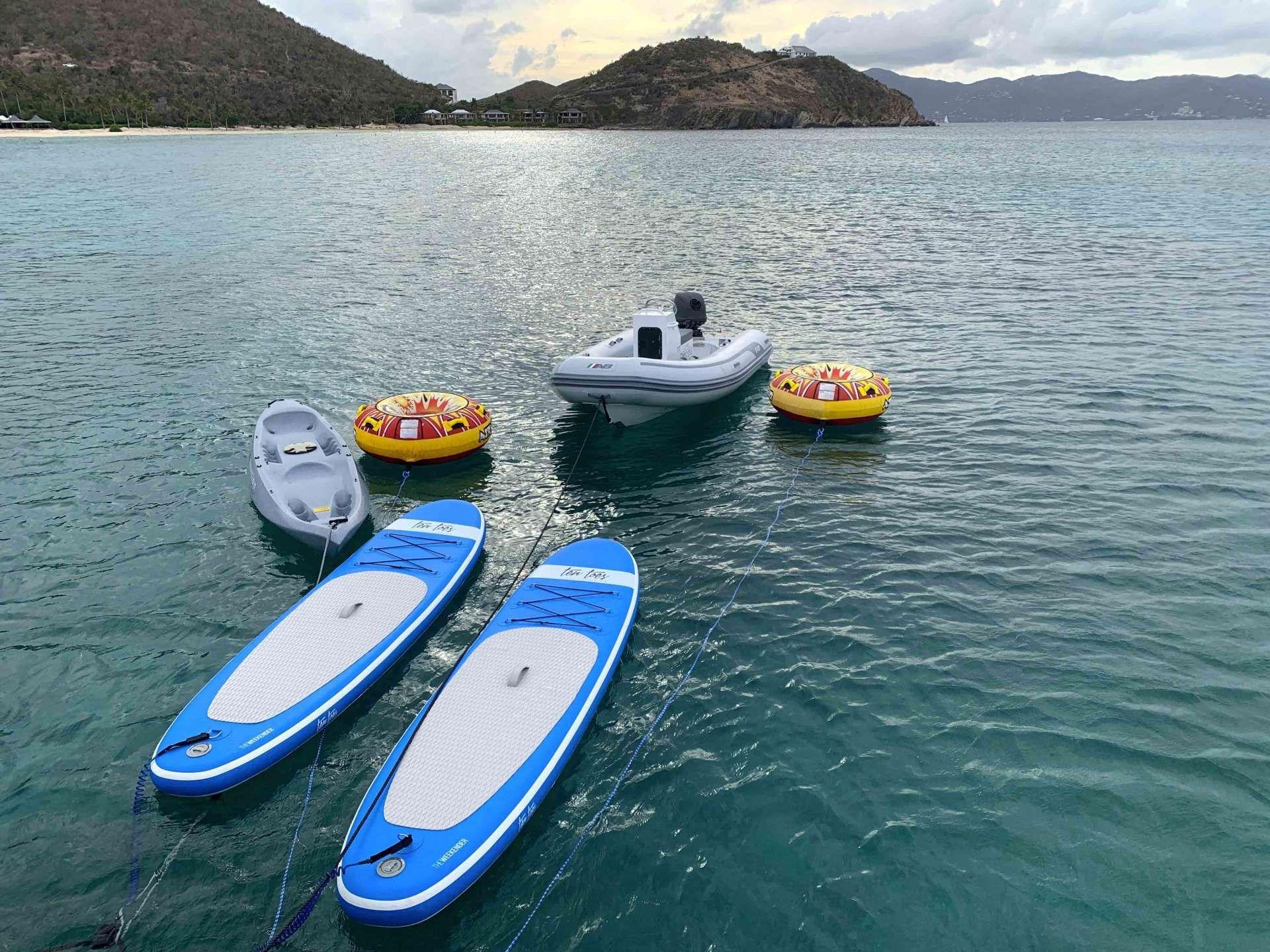 GYPSY PRINCES Lagoon 450 Water Sports