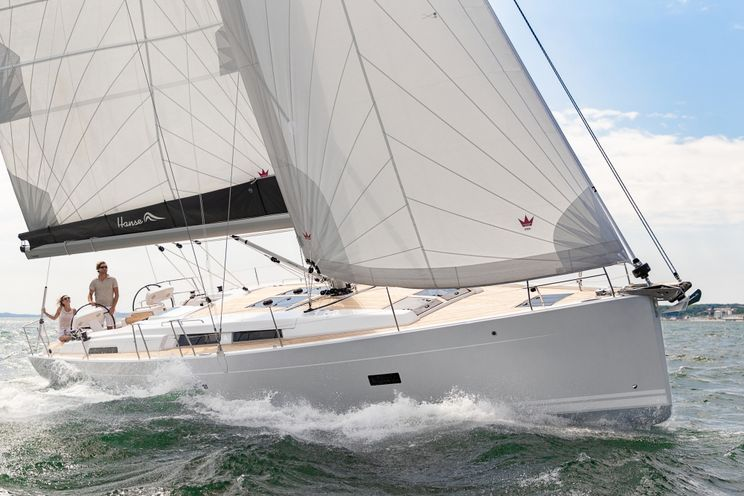 Charter Yacht Hanse 458 - 3 Cabins (3 doubles) - 2018- Port Hamble - Solent- Southampton- Isle of Wight