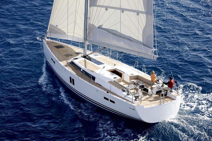 Charter Yacht Hanse 545e - 4 cabin - Mediterranean Sea -