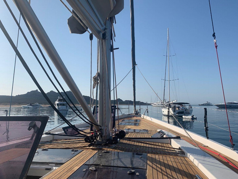Hanse 575 Deck
