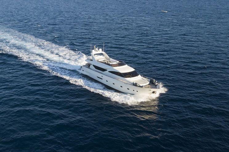 Charter Yacht HAPPY FEET - Alalunga 78 - 4 Cabins - Amalfi Coast - Sorrento - Capri - Positano